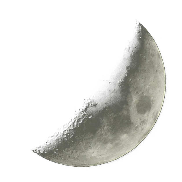 Crescent moon png. Transparent stickpng nature