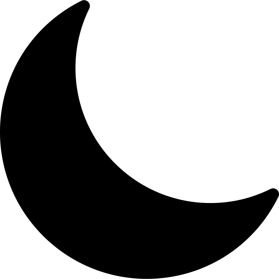 Crescent moon png. Svg icon free download