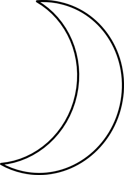 Crescent moon png. File wikimedia commons filecrescent