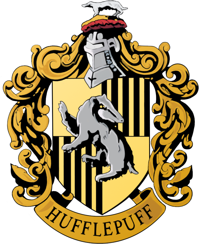 Crest banner png. Download hd hufflepuff harry