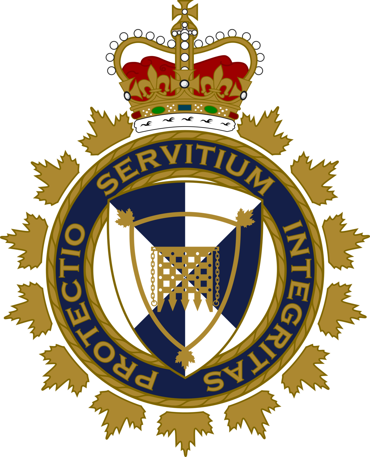 Crest border png. Canada services agency wikipedia