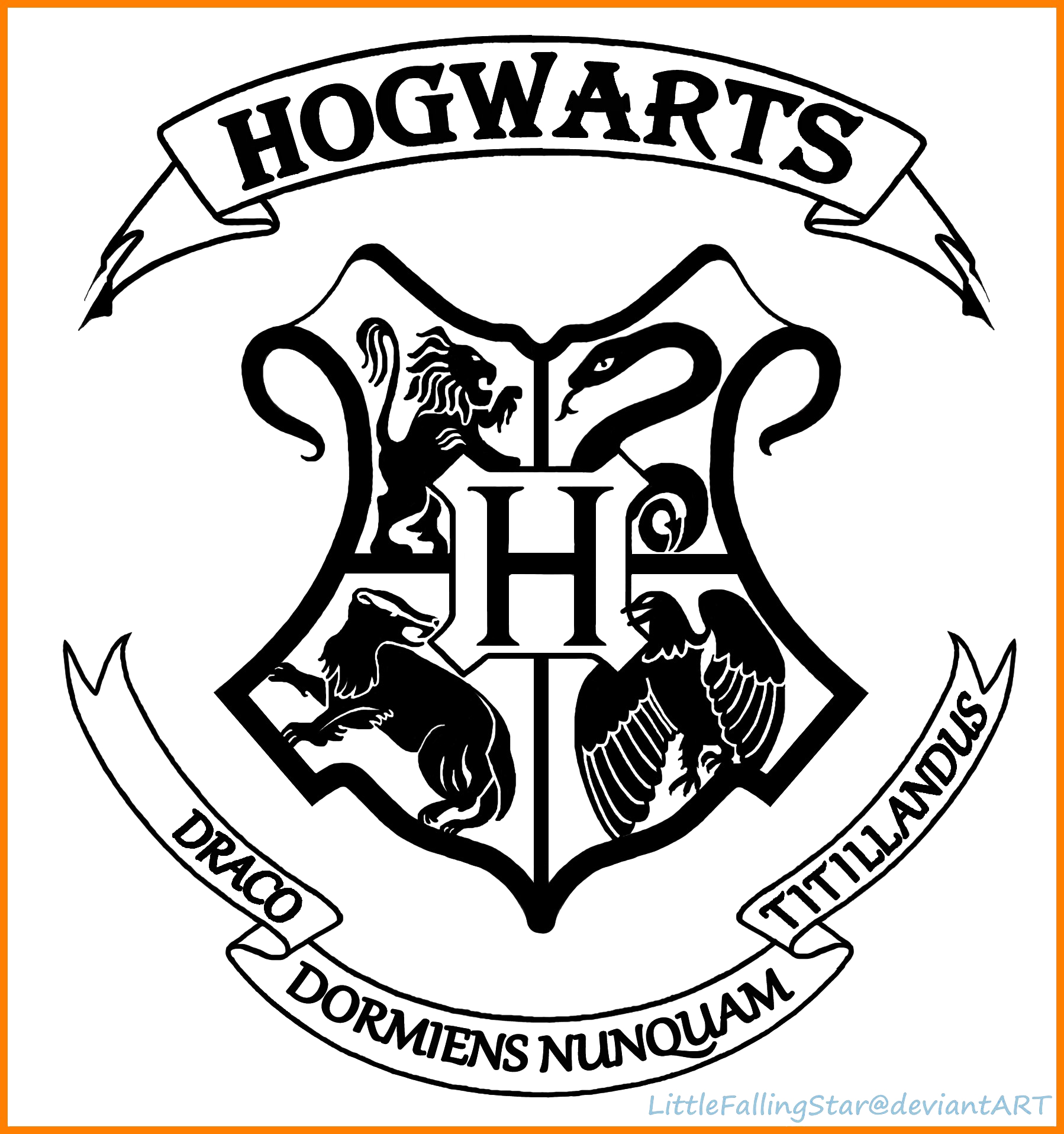 Crest png clear background. Hogwarts logo transparent mart