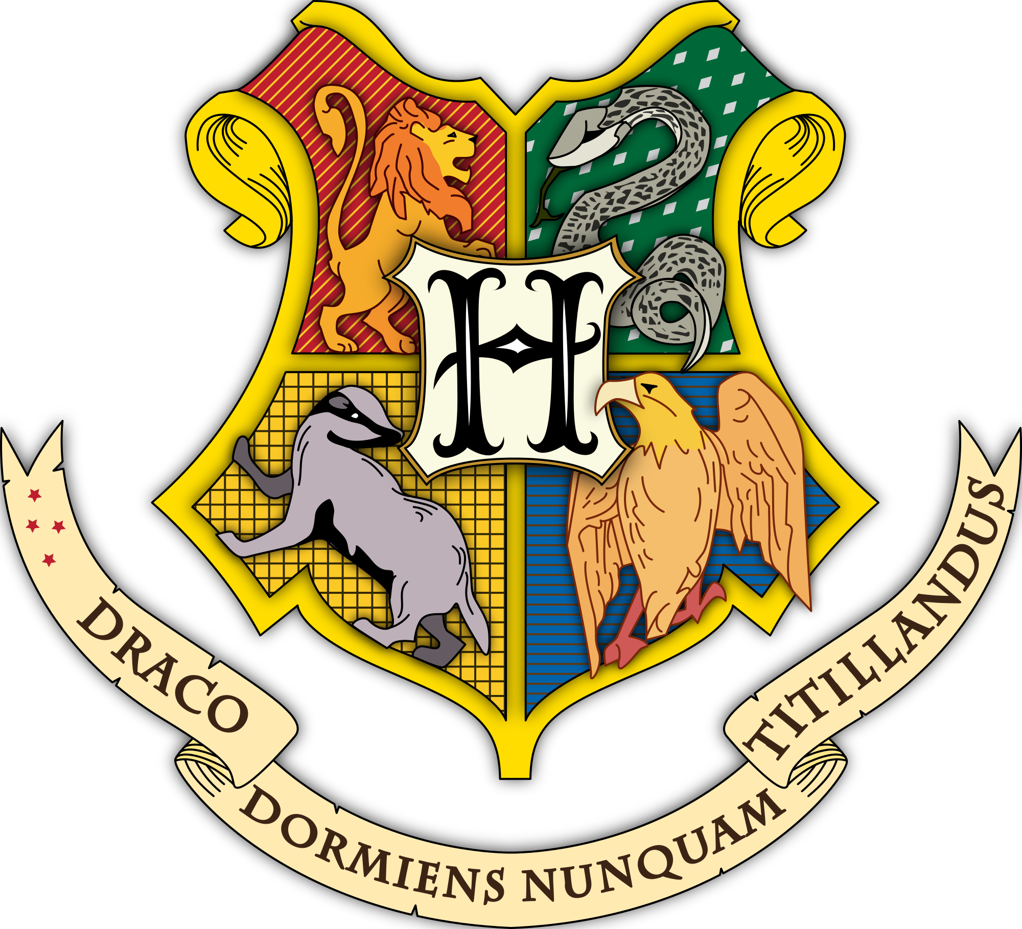 Hogwarts transparent check all. Crest png clear background clipart freeuse download