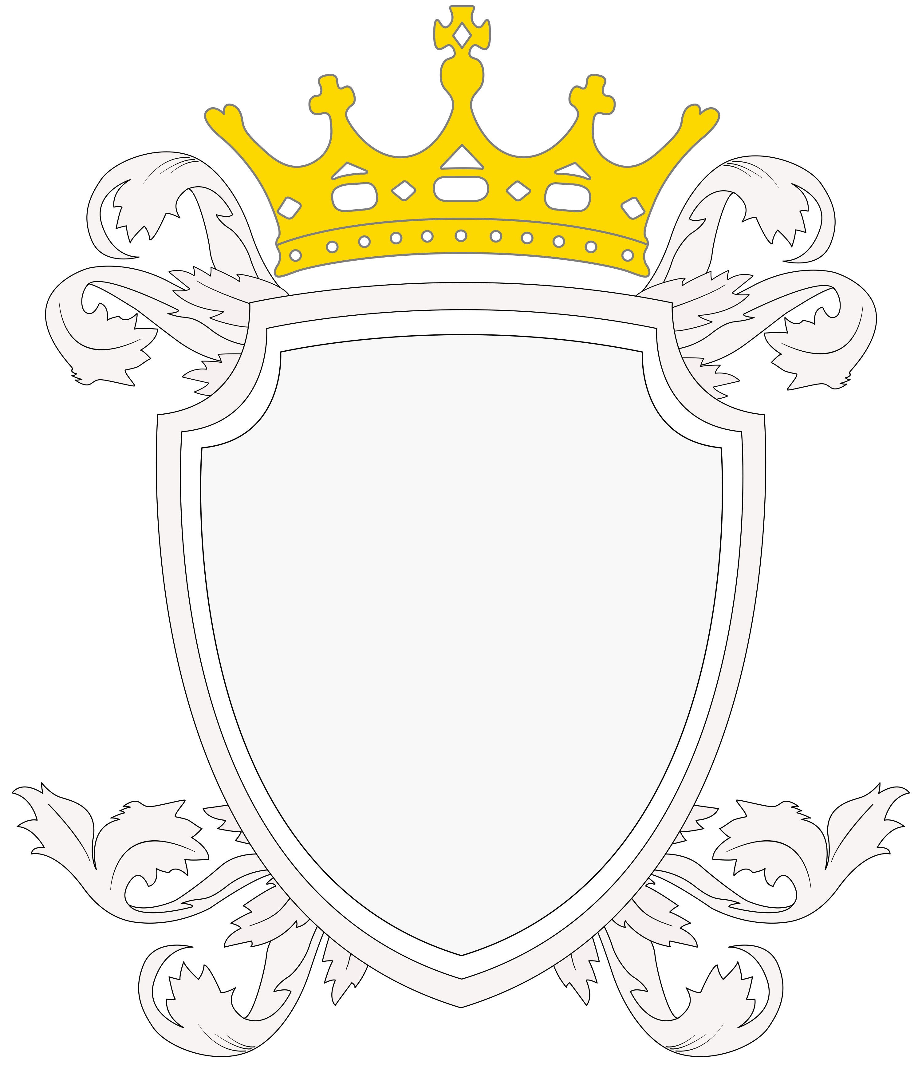 The mercurian empire view. Blank crest png picture black and white stock