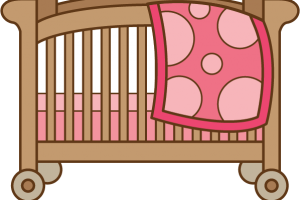 Crib clipart. Cilpart projects inspiration c