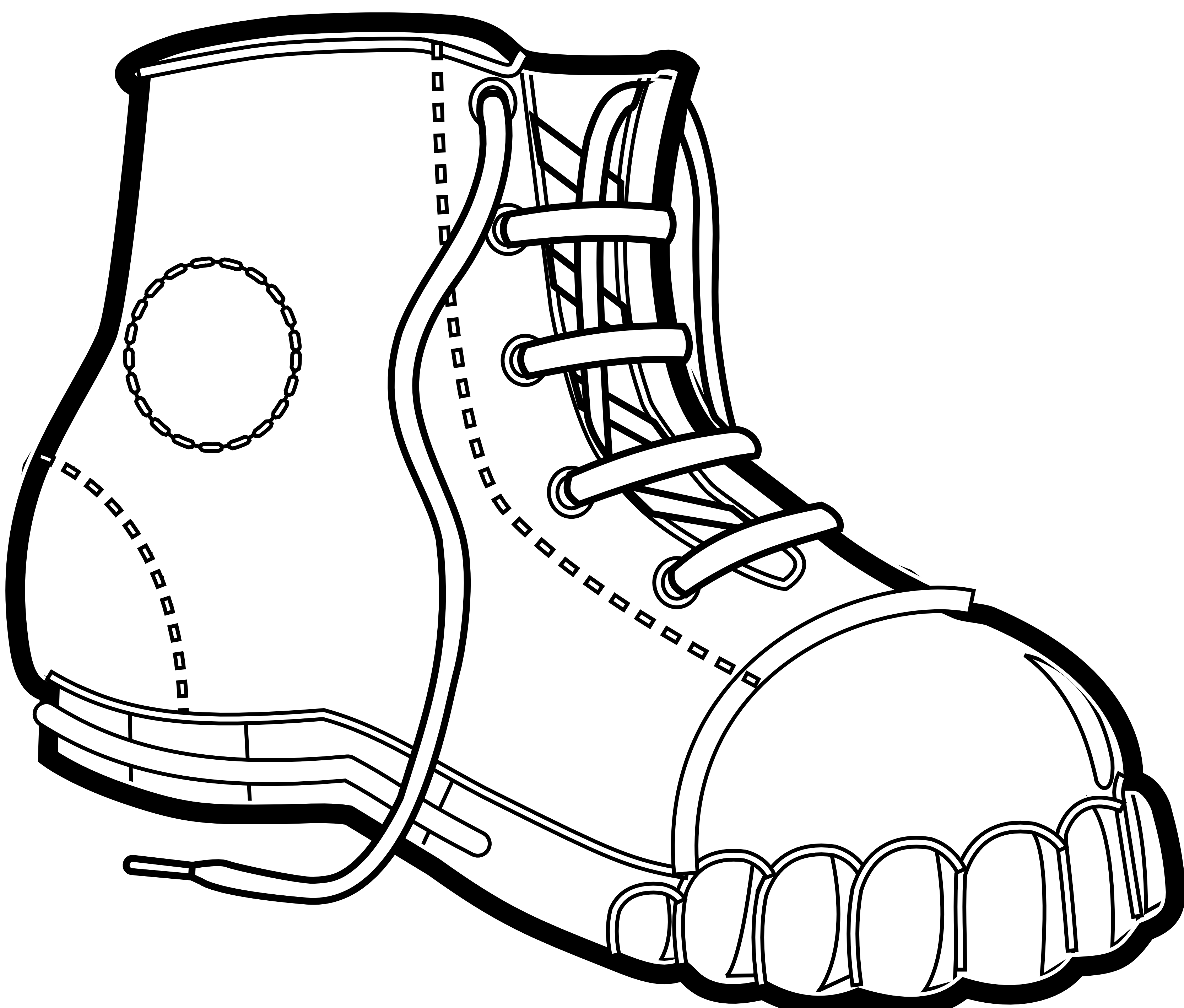 Boots svg spur drawing. Doll clipart black and