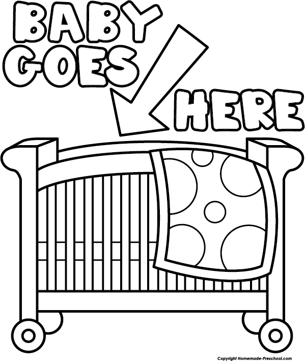 Crib clipart animated. Cliparts for you pinterest
