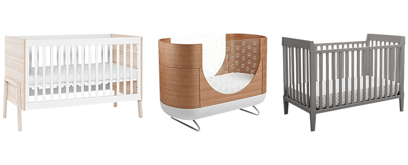 Crib drawing wooden. Best modern baby cribs