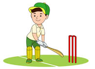 Cricket clipart. Sports free to download