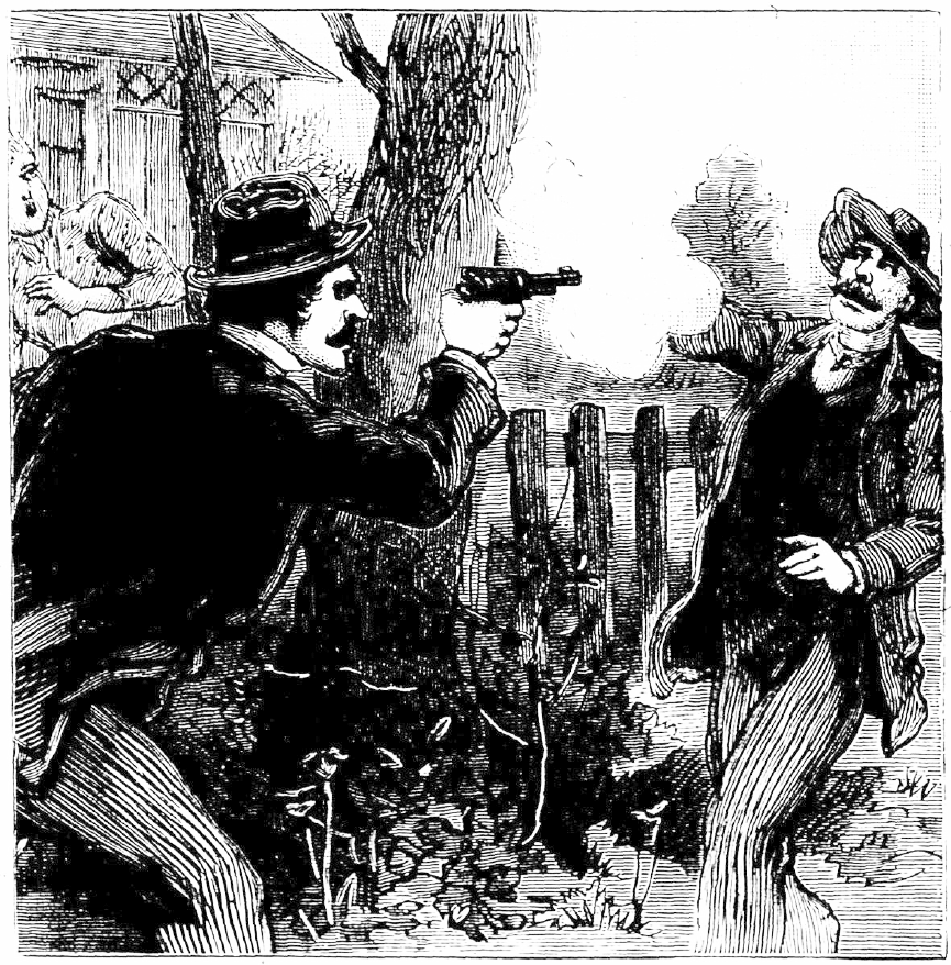 Criminal drawing 19th century. The national night stick