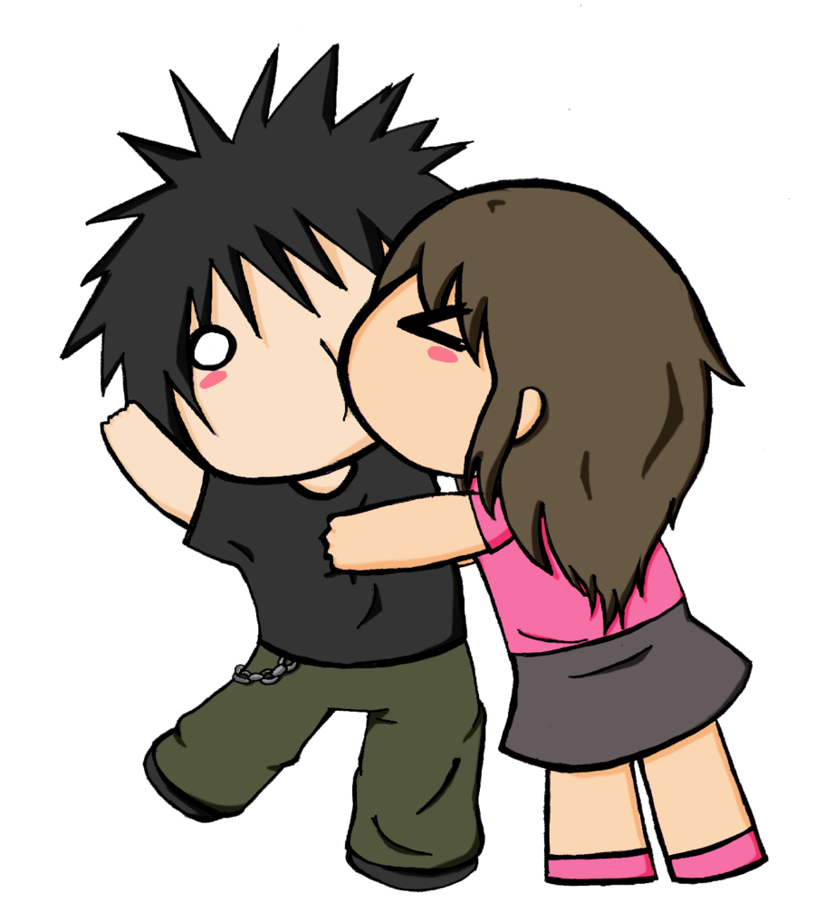 Criminal drawing couples. Images for anime chibi