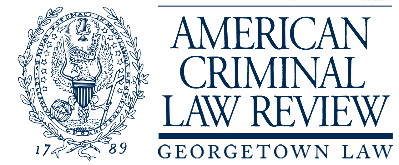 Criminal drawing life science. American law review home