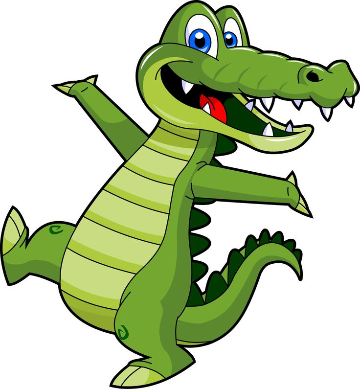 Crocodile clipart kid. For kids at getdrawings