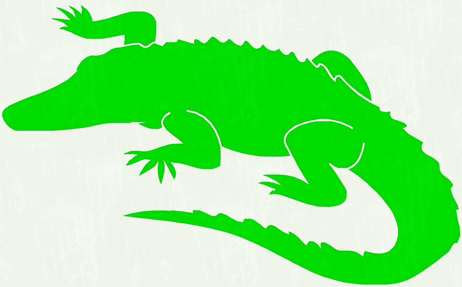 Crocodile clipart kid. Clipartix colouring page best
