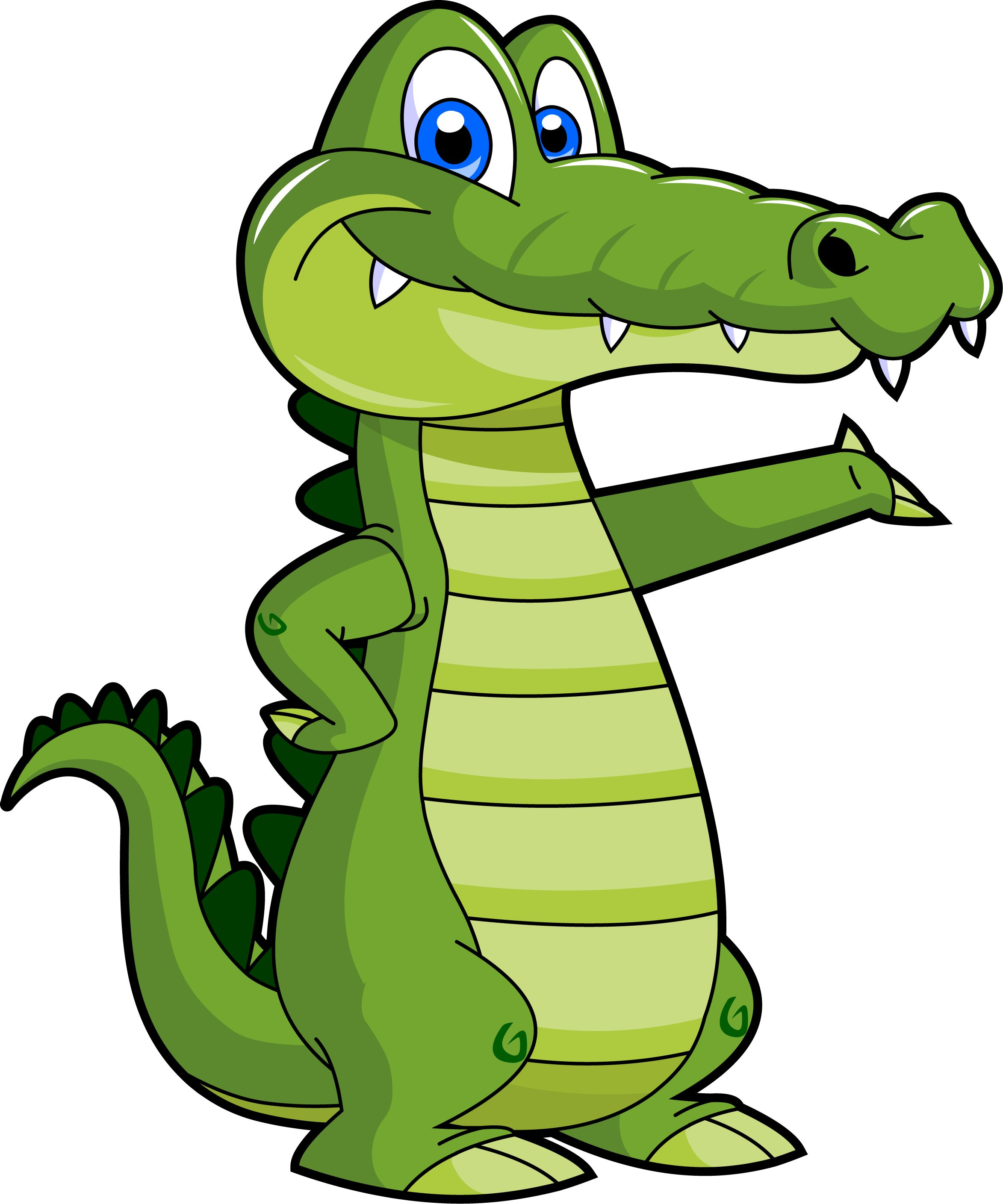 Crocodile clipart two. Dragon for kids at