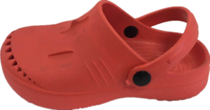 Crocs drawing charm. Shoes mold suppliers and