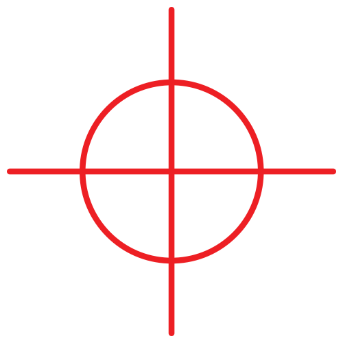 Transparent image pngpix. Crosshair png banner free library