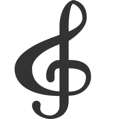 Cross and music notes png. Image note clef dlpng