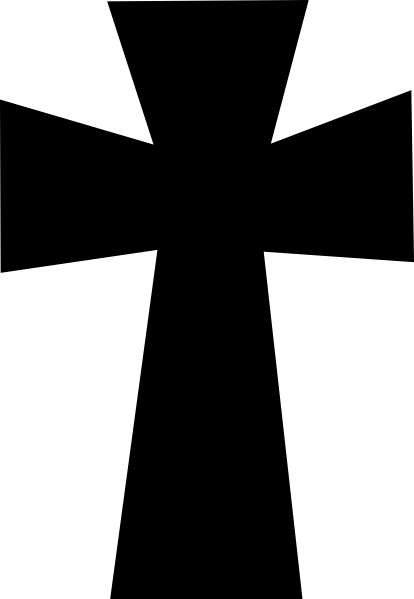 crucifix vector cross