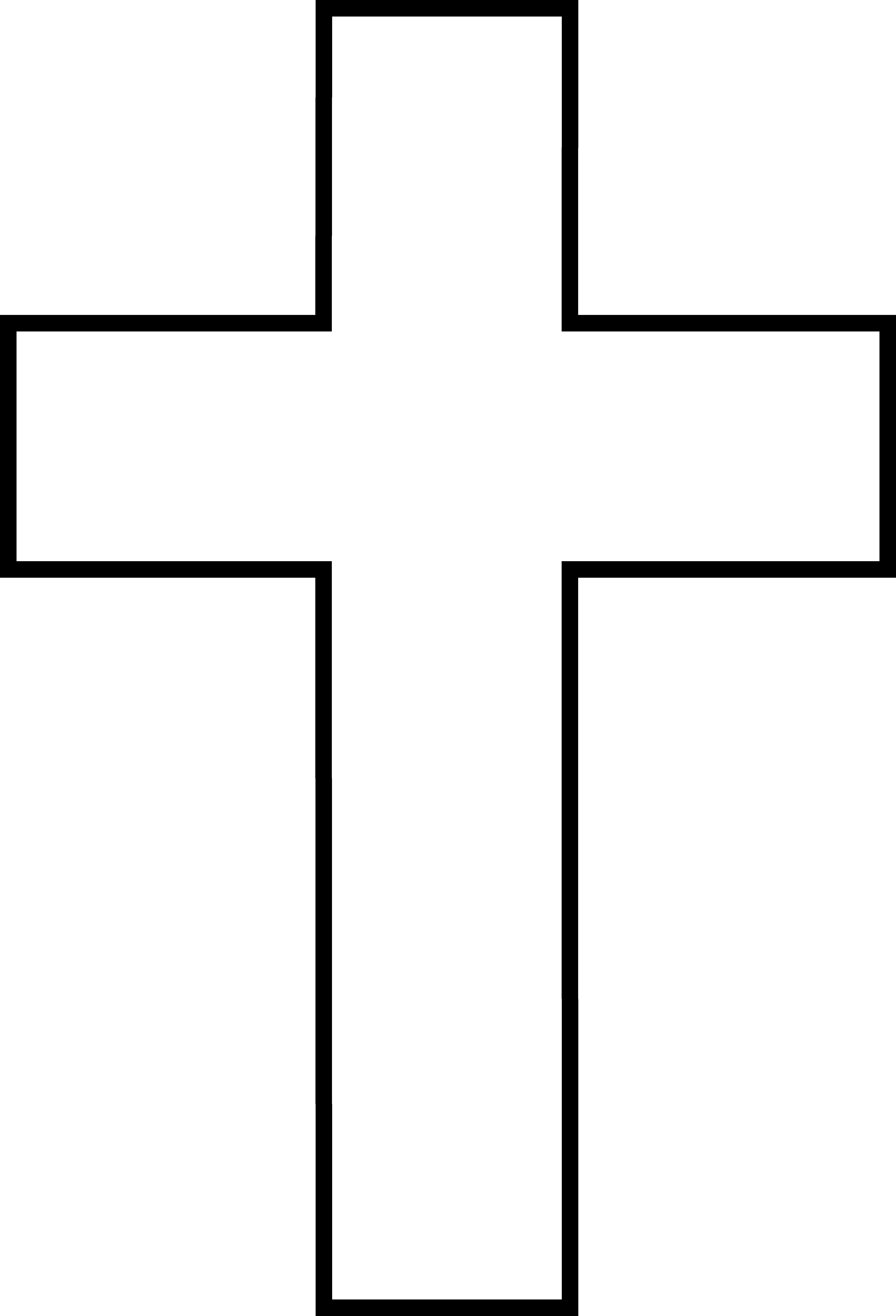 Christian vector simple cross designs. Image of black and