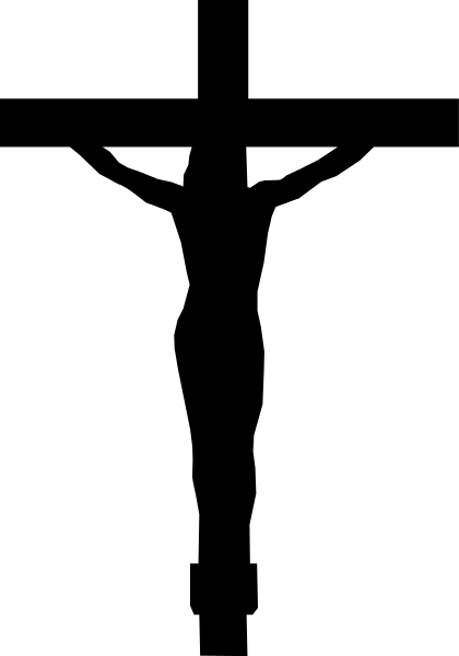 transparent church cross clipart