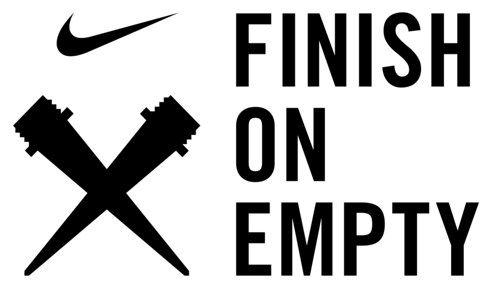 Cross country logo png. Finish on empty christy