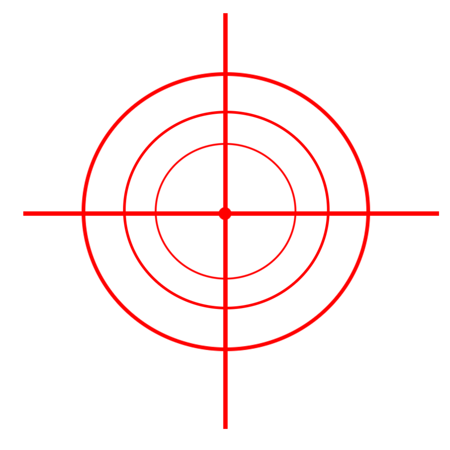 Png crosshair. By e space productions