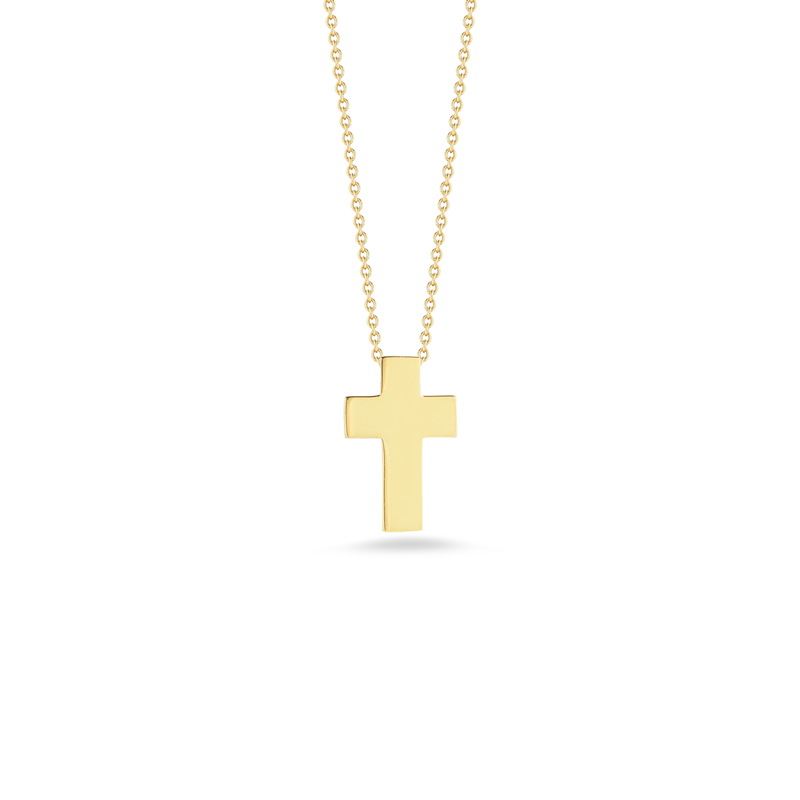 Cross necklace png. Italian gold pendant for