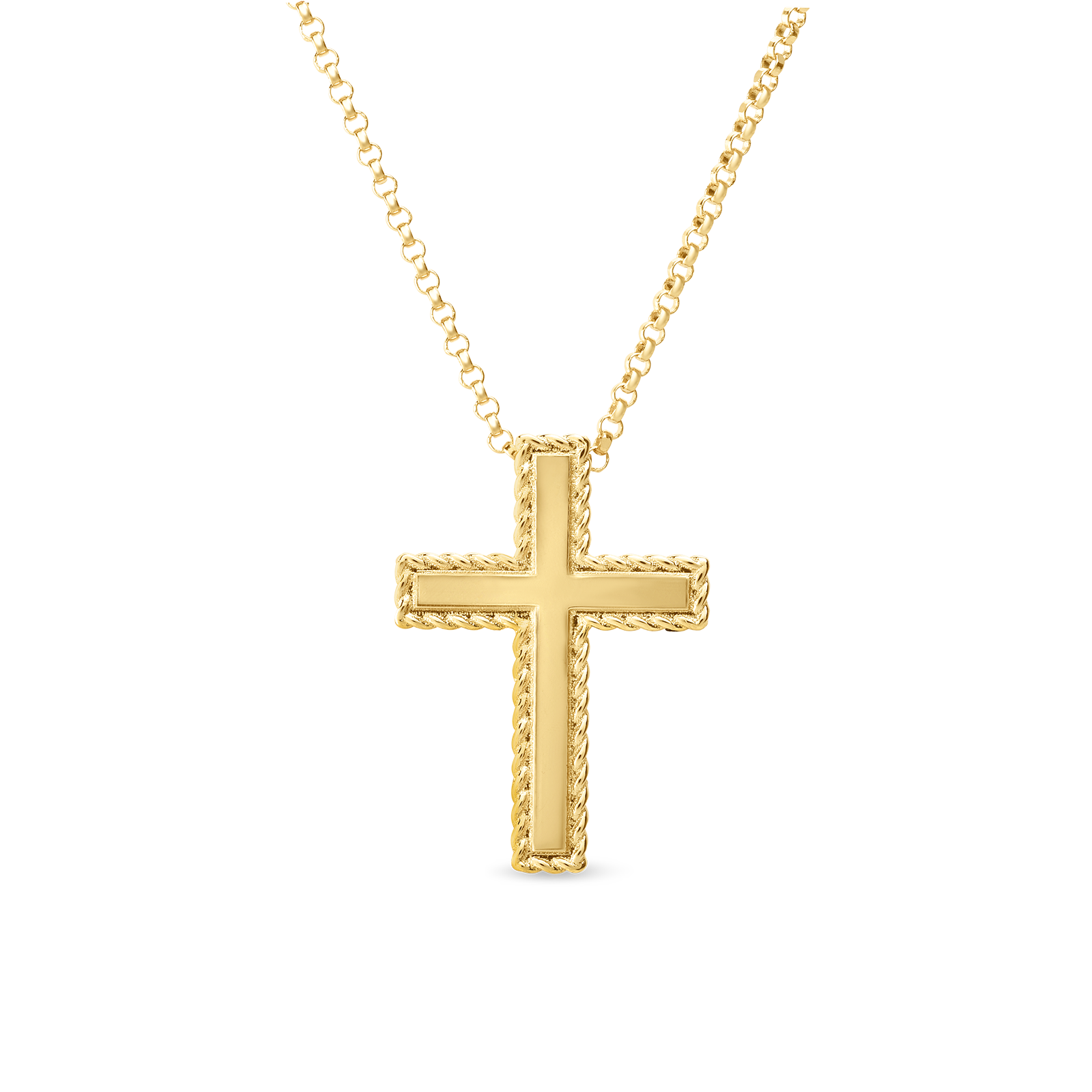 Cross necklace png. New barocco gold kcros