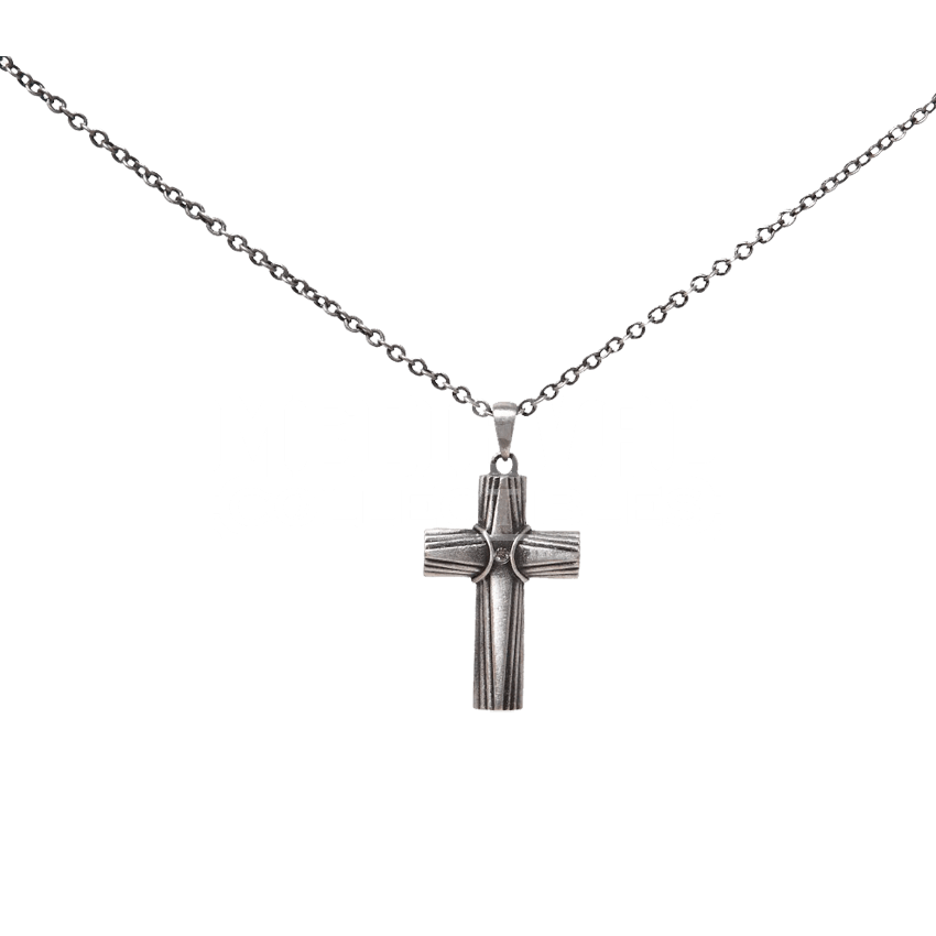 Cross necklace png. Rustic ccj by medieval