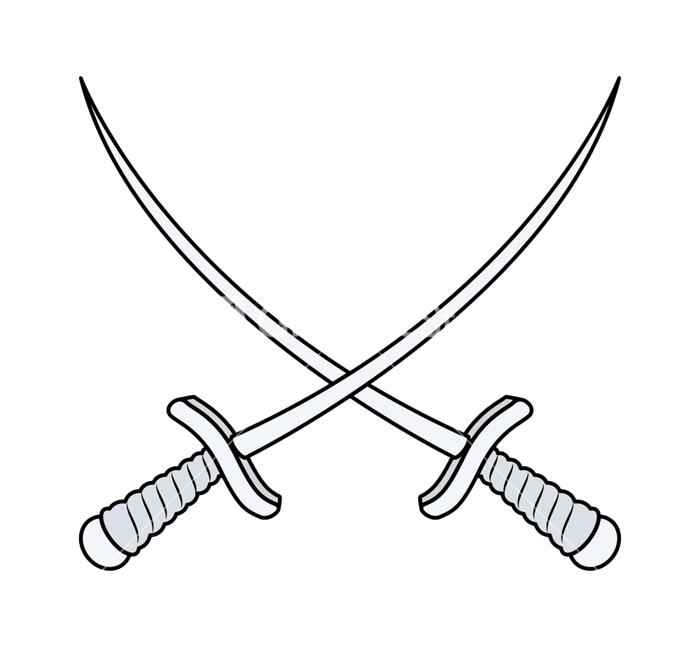 Crossing swords png. Cross sword file mart