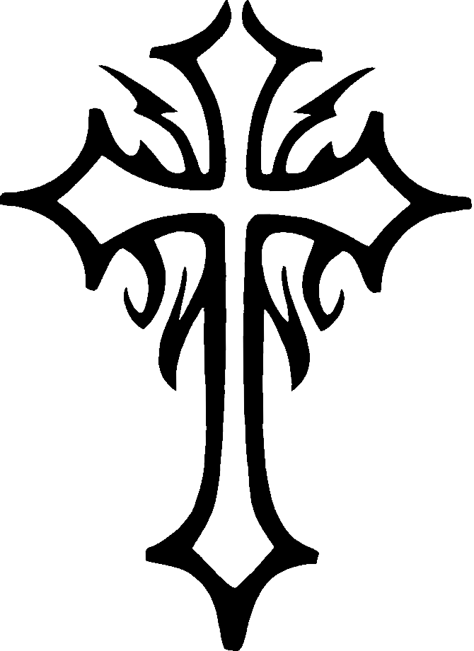 Cross design png