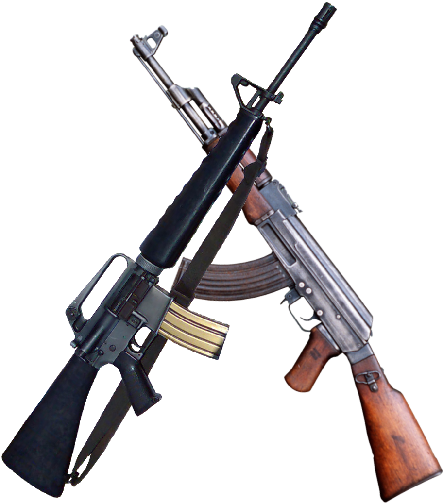 Crossed ak47 png. Assault rifle battlefield wiki