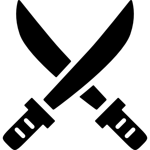 Blade vector crossed sword. Swords free weapons icons