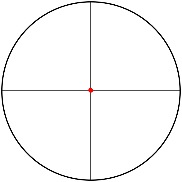Crosshair dot png. Crosshairs ir weapons guns