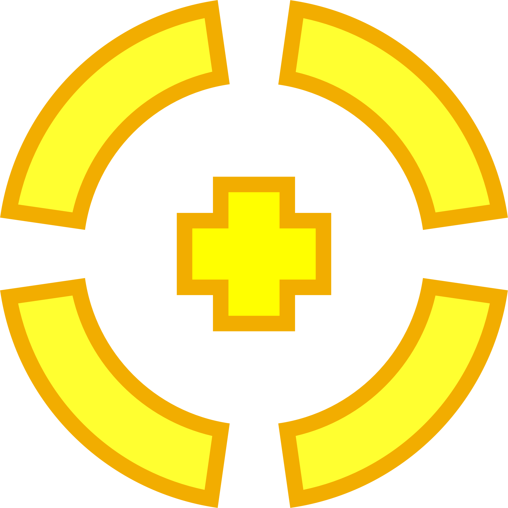 Crosshair .png. Yellow target icons png