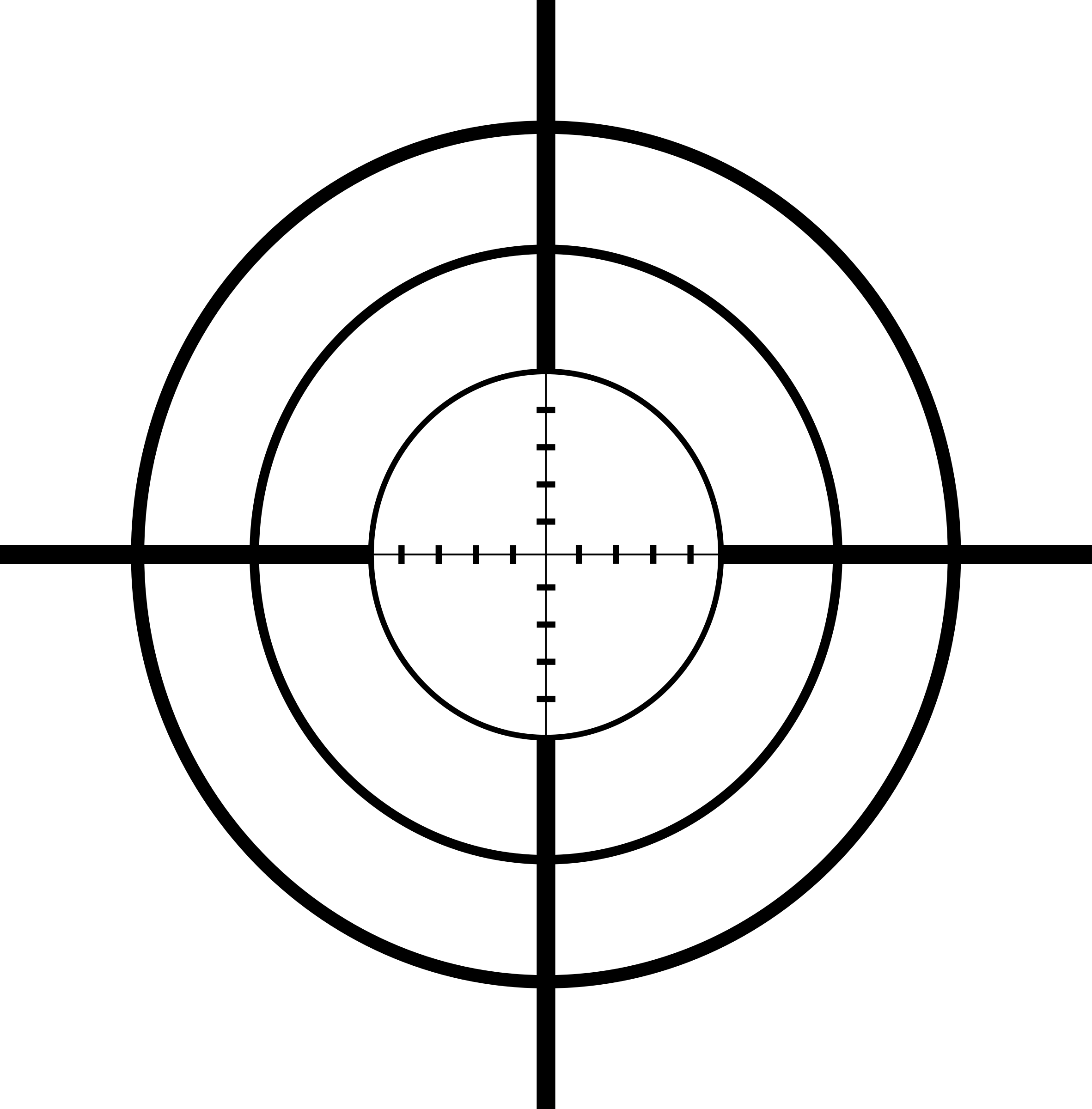 Png crosshairs. Clipart big image