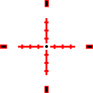 Red crosshair png. Crosshairs clip art at