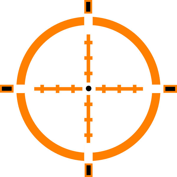 Png crosshairs. Crosshair clip art at