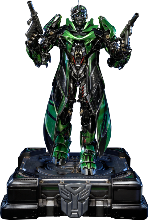 Crosshairs transformers png. Statue by prime studio