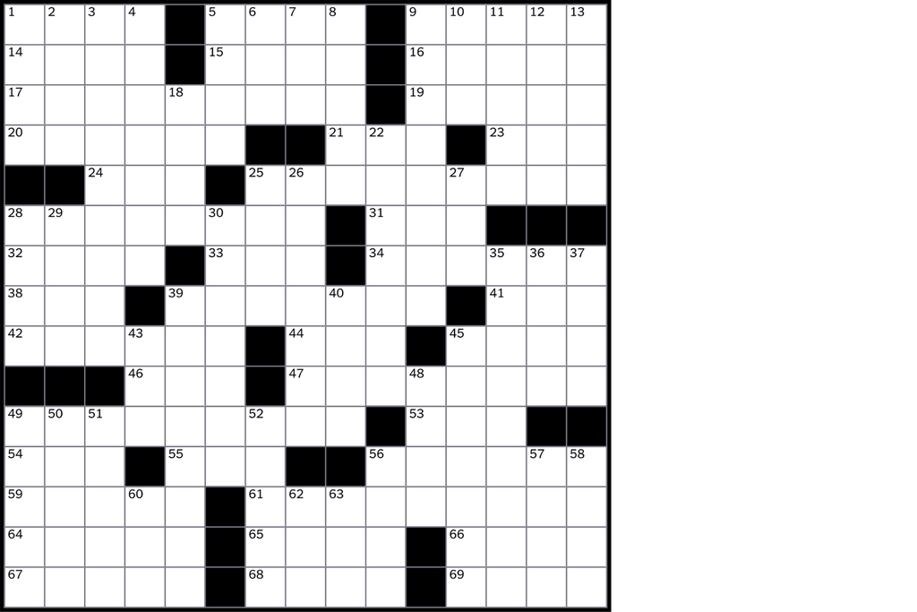 Puzzle transparent crossword. How to solve the