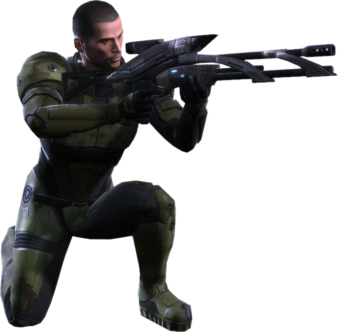 Crouching drawing sniper. Guide mass effect wiki