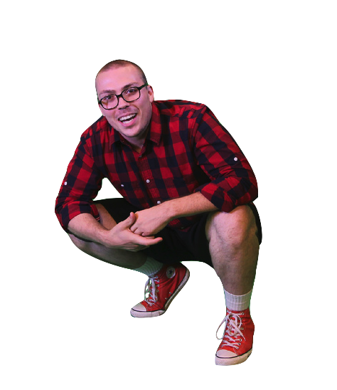 Crouching drawing squat. Squatting anthony fantano know