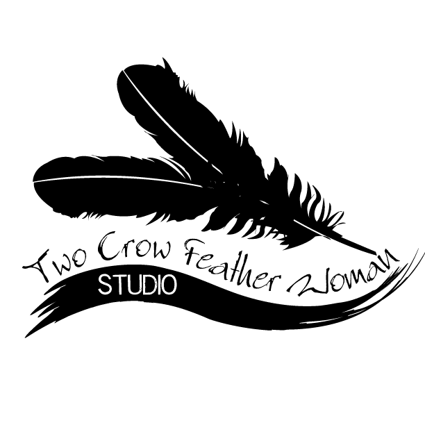Welcome two woman art. Crow feather png vector black and white library
