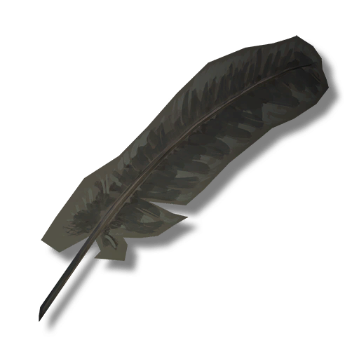 Image icon the long. Crow feather png banner royalty free stock