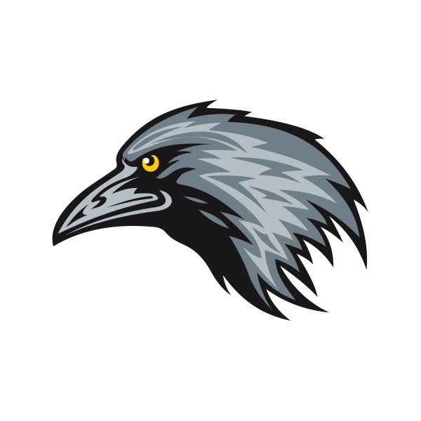 Crow head png. Printed vinyl stickers factory