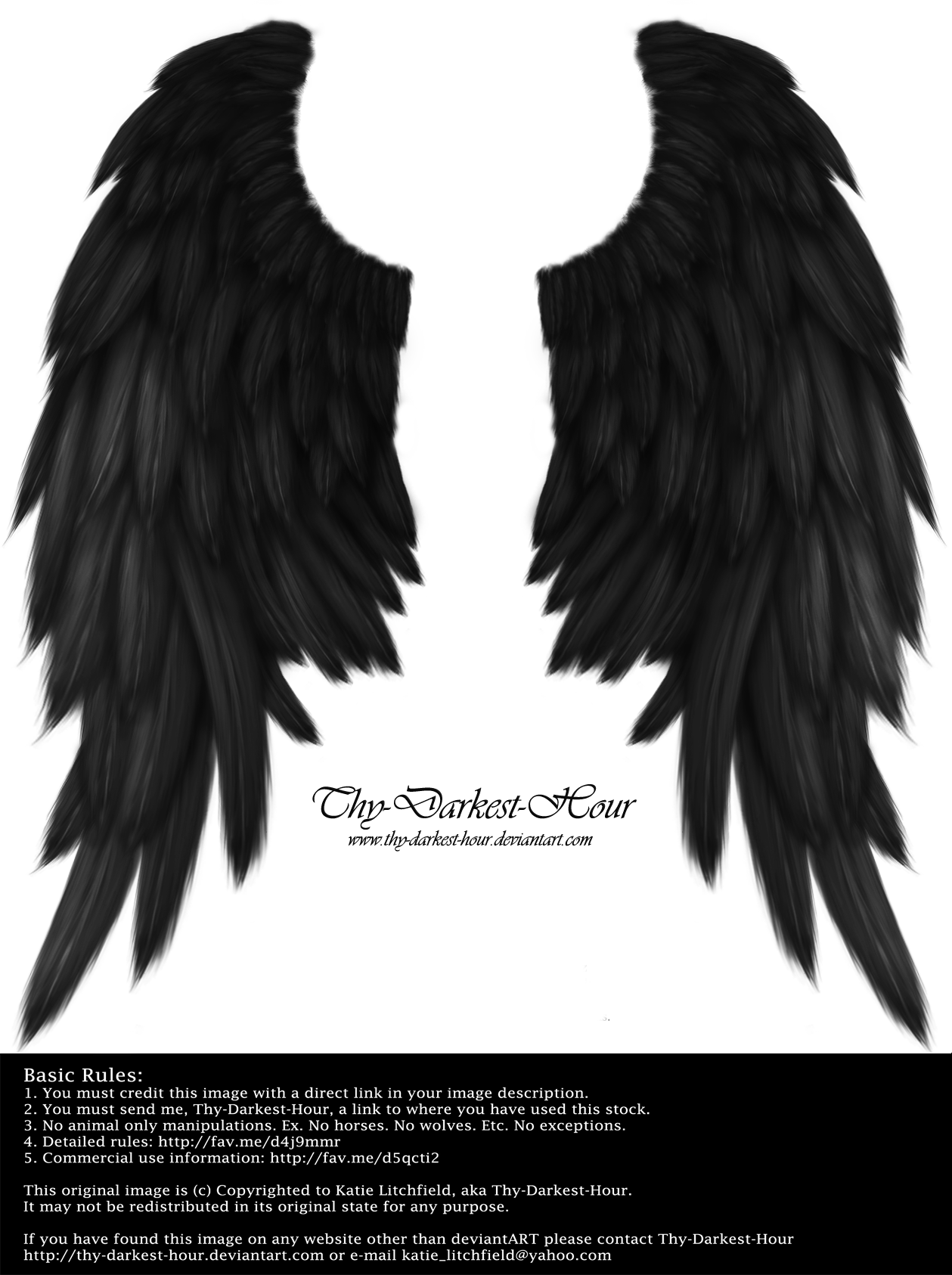 Crow wings png. Daydream black by thy