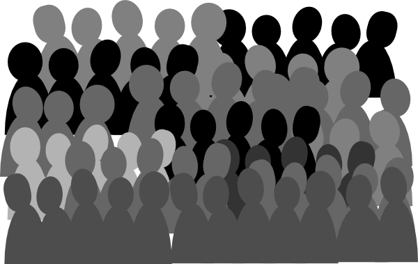 Crowd clipart. Images free