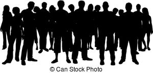 Crowd clipart. And stock illustrations vector graphic free download