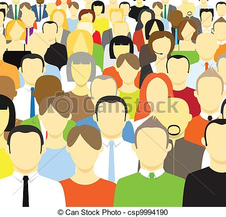 The of abstract people. Crowd clipart svg transparent stock